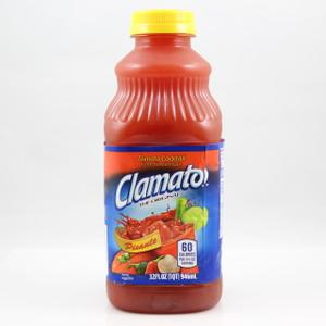 Clamato Picante - 32 Fl. Oz. Bottle