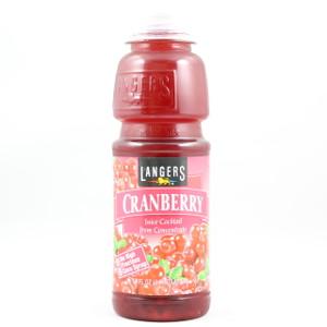 Langers - Cranberry Juice Cocktail - 16 Fl. Oz. Bottle