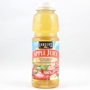 Langers - 100% Apple Juice - 16 Fl. Oz. Bottle