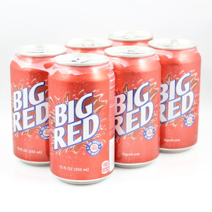 Big Red - 12 Fl. Oz. Cans - 6 Pack