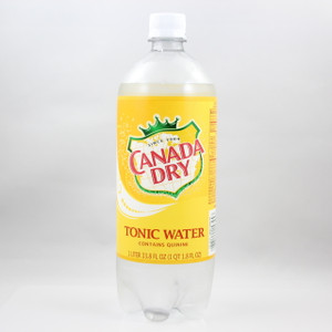 Canada Dry - Tonic Water - 1 Liter Bottle