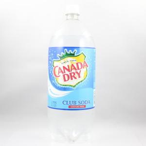 Canada Dry - Club Soda - 2 Liter Bottle