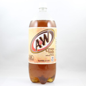 A&W Cream Soda - 2 Liter Bottle
