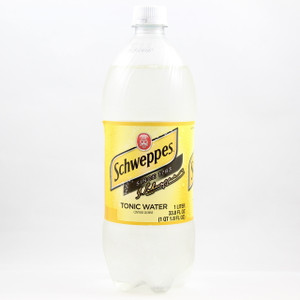 Schweppes Tonic Water - 1 Liter Bottle