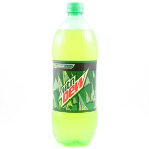 Mountain Dew - 1 Liter Bottle