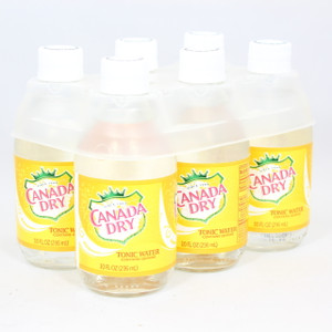 Canada Dry - Tonic Water - 10 Fl. Oz. Bottles - 6 Pack