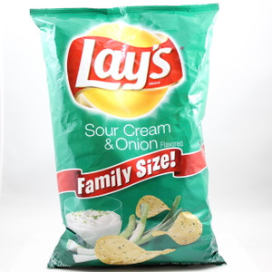 Lay's - Sour Cream & Onion - 7.75 Oz.