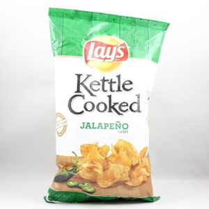 Lay's Kettle Cooked - Jalapeno - 8 Oz.