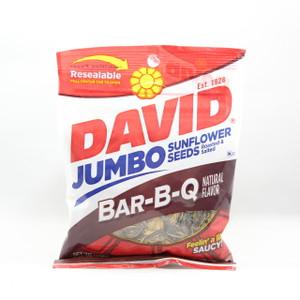 David Jumbo Sunflower Seeds - Bar-B-Q - 5.25 Oz.