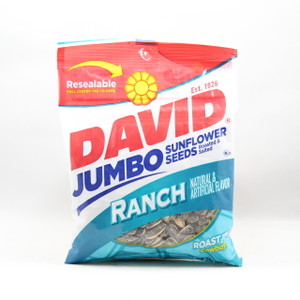 David Jumbo Sunflower Seeds - Ranch - 5.25 Oz.