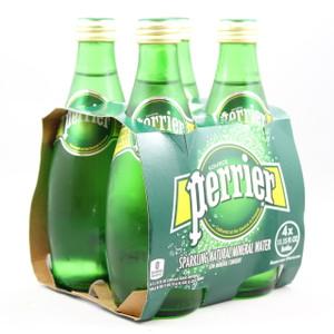 Perrier Mineral Water - 330ml Bottles - 4 Pack