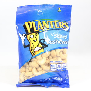 Planters - Salted Cashews - 3 Oz.