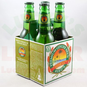 Reed's Premium Ginger Brew - Ginger Ale - 12 Fl. Oz. Bottles - 4 Pack