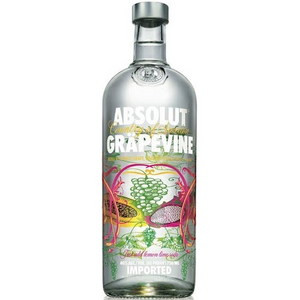 Absolut Grapevine - White Grape, Dragonfruit, and Papaya Flavored Vodka