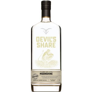 CutWater Spirits - Devil's Share California Small Batch Moonshine