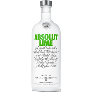 Absolut Lime - Lime Flavored Vodka