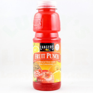 Langers - Fruit Punch - 16 Fl. Oz. Bottle