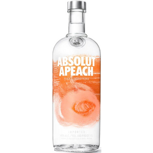 Absolut Apeach - Peach Flavored Vodka