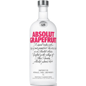 Absolut Ruby Red - Grapefruit Flavored Vodka