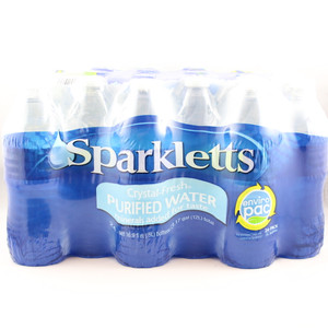 Sparkletts Purified Drinking Water - 16.9 Fl. Oz. Bottles - 24 Pack