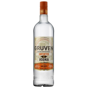 Gruven Handcrafted Small Batch Polish Vodka