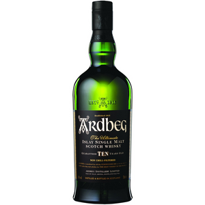 Ardbeg 10 Year Single Malt Scotch Whisky