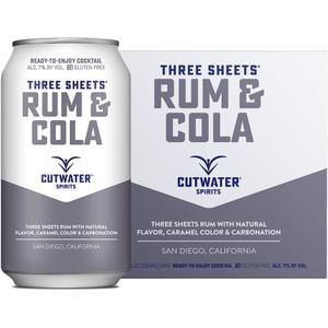 CutWater Spirits - Three Sheets Rum & Cola