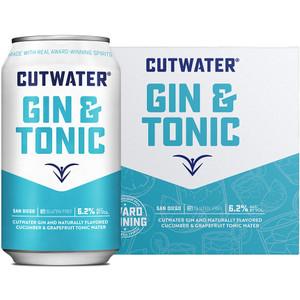 CutWater Spirits - Gin & Tonic