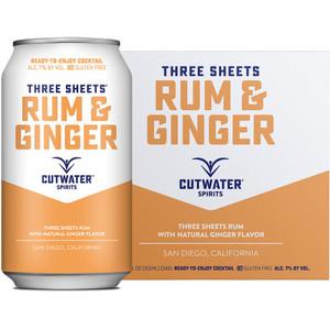 CutWater Spirits - Three Sheets Rum & Ginger