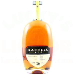Barrell Cask Strength Rye Whiskey