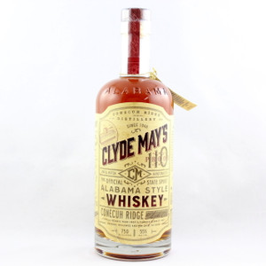 Clyde May's 110 Proof Small Batch Alabama Style Whiskey