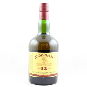 Redbreast Single Pot Still Irish Whiskey - 12 Year