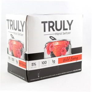 Truly Hard Seltzer - Wild Berry