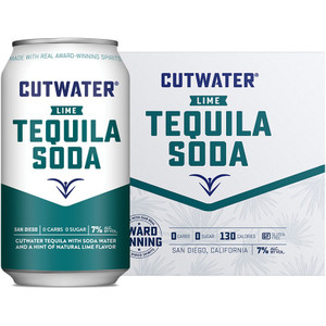 CutWater Spirits - Lime Tequila Soda