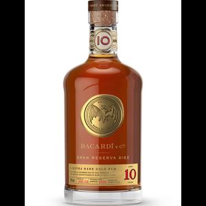 Bacardi Gran Reserva Diez 10 Year Gold Rum