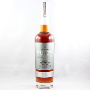 Duke Double Barrel Founder's Reserve Rye Whiskey