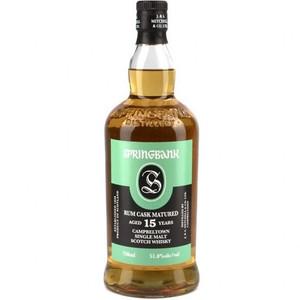 Springbank 15 Year Rum Cask Matured Single Malt Scotch Whisky