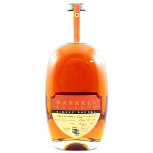Barrell Single Barrel Cask Strength Bourbon Whiskey