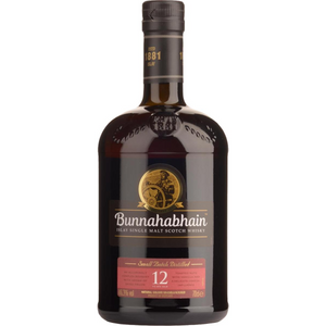 Bunnahabhain 12 Year SIngle Malt Scotch Whisky