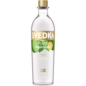 Svedka Pure Infusions Ginger Lime Flavored Vodka