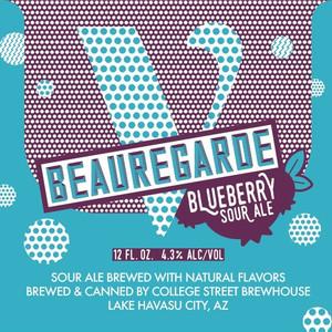 College Street Brewhouse - V. Beauregarde Blueberry Sour Ale