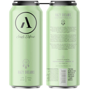 Abnormal Beer Co. - Hazy Dreams New England Hazy IPA