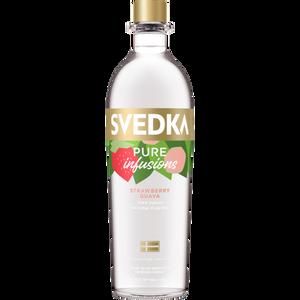 Svedka Pure Infusions Strawberry Guava Flavored Vodka