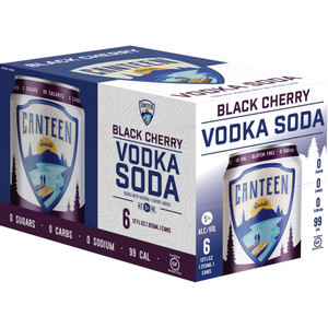 Canteen Spirits - Black Cherry Vodka Soda