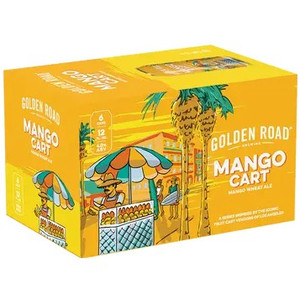 Golden Road Brewing - Mango Cart Wheat Ale
