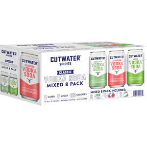 CutWater Spirits - Vodka Soda Variety Pack