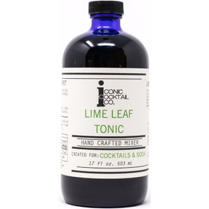 Iconic Cocktail Co. Hand Crafted Mixer - Lime Leaf Tonic