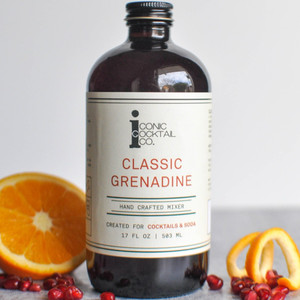 Iconic Cocktail Co. Hand Crafted Mixer - Classic Grenadine
