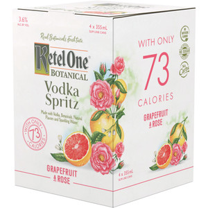 Ketel One Botanical Vodka Spritz - Grapefruit Rose