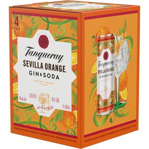 Tanqueray Sevilla Orange Gin & Soda
